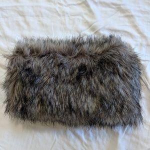 Accessories - Asos Faux Fur Hand Warmer/ Scarve